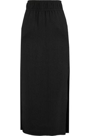 HELMUT LANG Matelassé silk maxi skirt