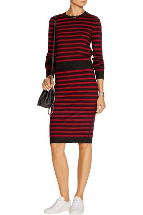 MARC BY MARC JACOBS Stretch wool-blend pencil skirt