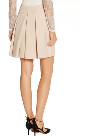 ALEXANDER MCQUEEN Stretch-twill mini skirt