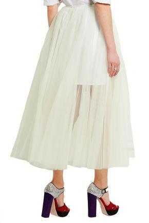 MIU MIU Tulle maxi skirt