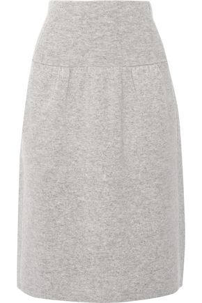 JOSEPH Boiled wool skirt