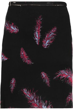 EMILIO PUCCI Printed cotton wool skirt