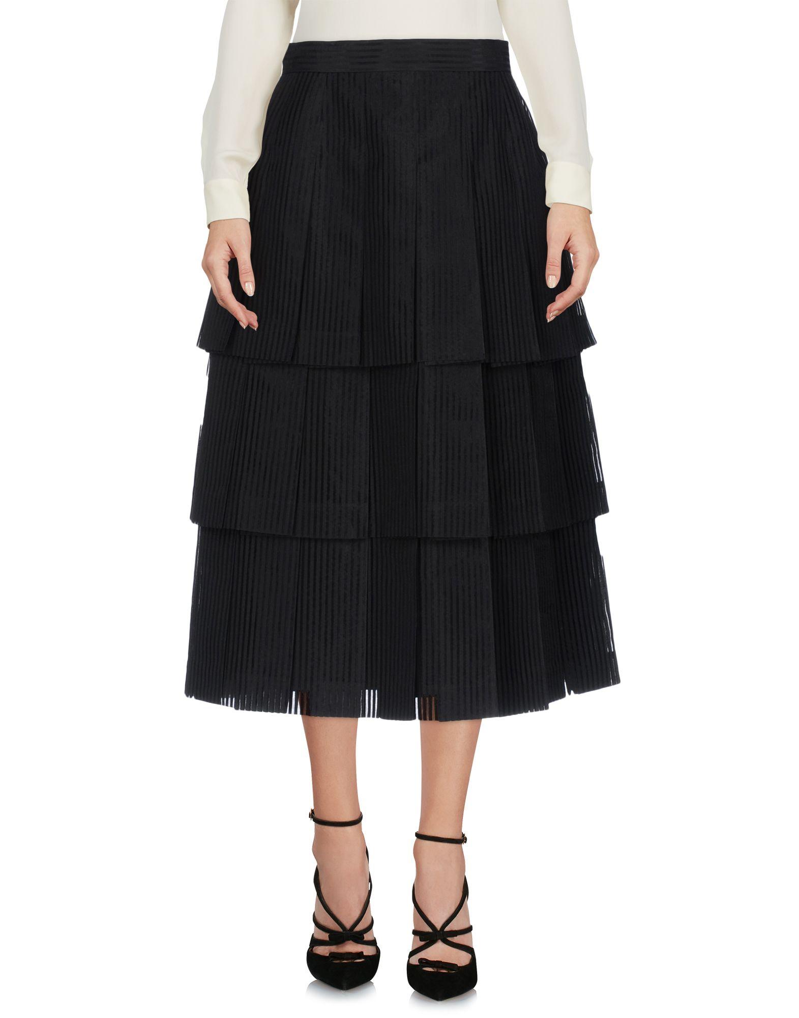 THOM BROWNE Юбка длиной 3/4 moschino couture юбка длиной 3 4