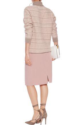 AGNONA Wool-blend skirt