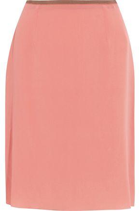 AGNONA Silk-blend skirt