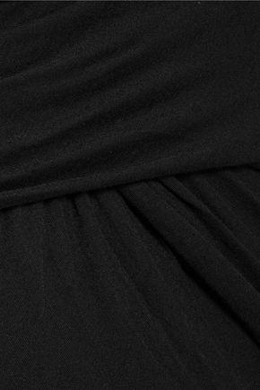 BAILEY 44 Wrap-effect stretch-jersey maxi skirt