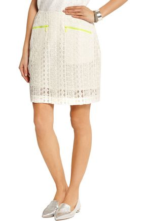 PREEN LINE Ines embroidered tulle skirt