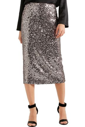 TOM FORD Sequined silk skirt