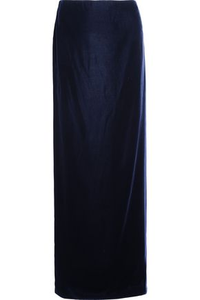 TOM FORD Velvet maxi skirt