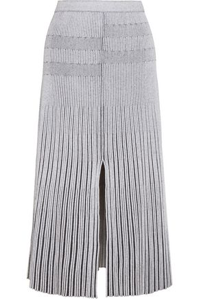 PROENZA SCHOULER Plated-knit midi skirt