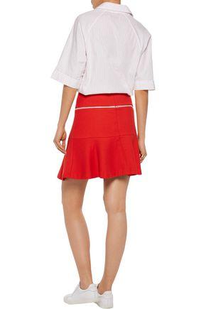 SANDRO Joplin cotton-blend jacquard mini skirt