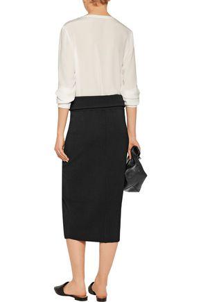 TOTÊME Tripoli stretch-knit midi skirt