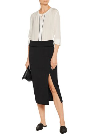 TOTÊME Tripoli stretch-knit midi skirt