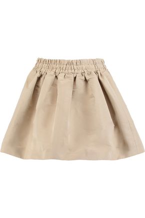 REDValentino Pleated twill mini skirt