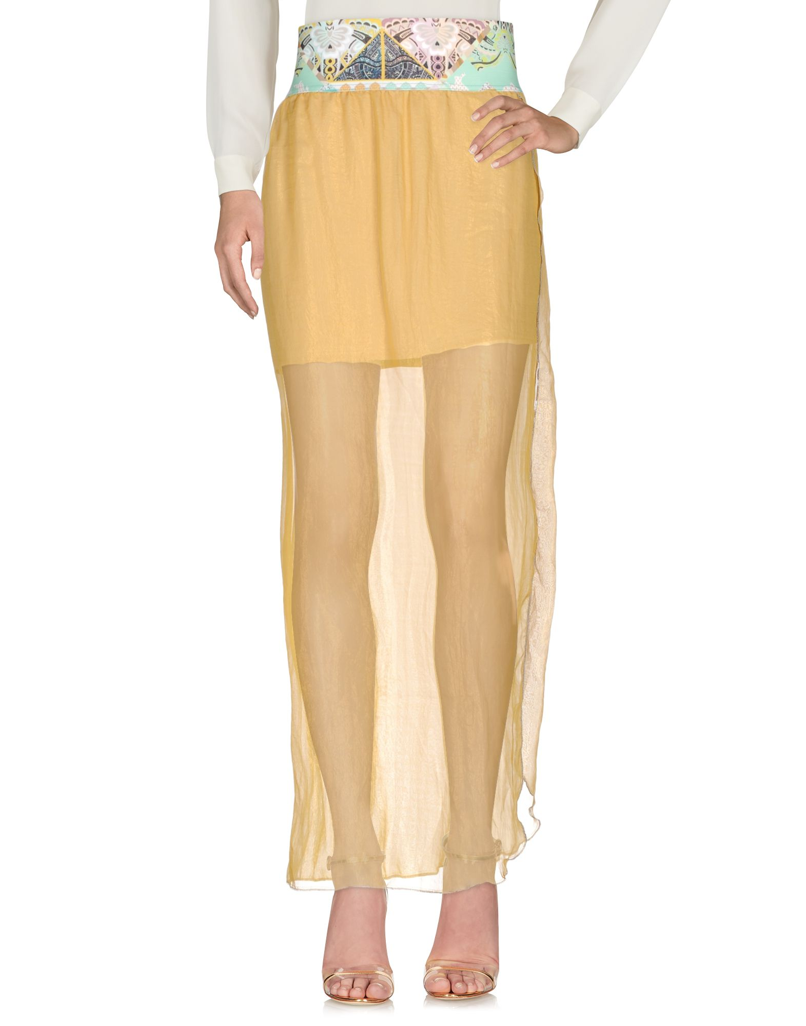 F**K PROJECT Длинная юбка scaglione city длинная юбка