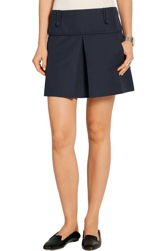 Grenoble stretch cotton-blend mini skirt | TOTÊME | Sale up to 70% off |  THE OUTNET