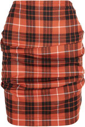 VIVIENNE WESTWOOD ANGLOMANIA Tartan wool mini skirt