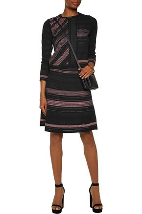 M MISSONI Metallic knitted skirt