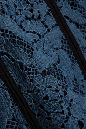 MSGM Lace mini skirt