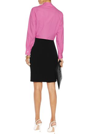 MOSCHINO CHEAP AND CHIC Stretch-crepe skirt