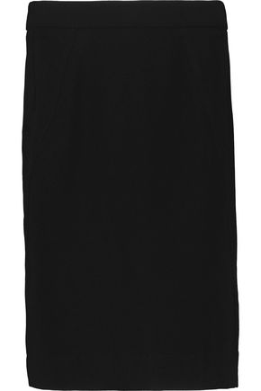 BOUTIQUE MOSCHINO Stretch-crepe skirt
