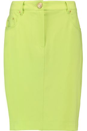 MOSCHINO Crepe mini skirt