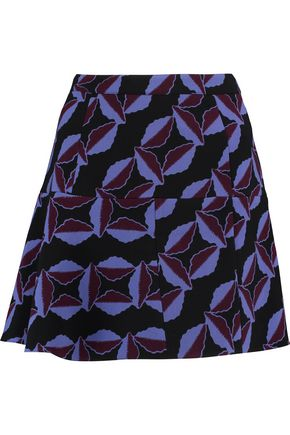 MARNI Printed wool skirt