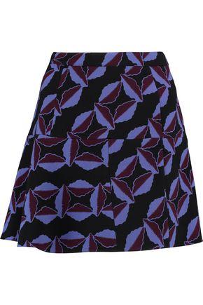 MARNI Printed wool skirt