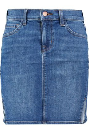 J BRAND Rosie stretch-denim mini skirt