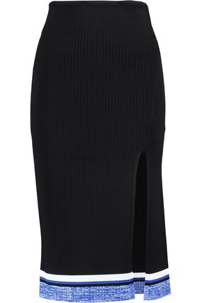 RAG & BONE Sheridan ribbed stretch-knit skirt