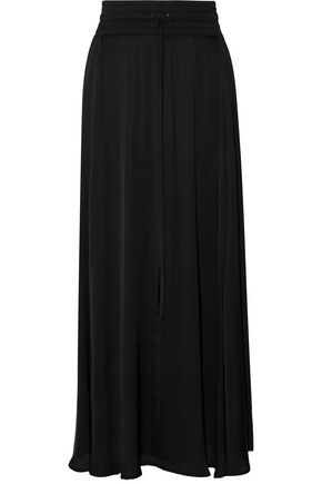 ENZA COSTA Satin maxi skirt