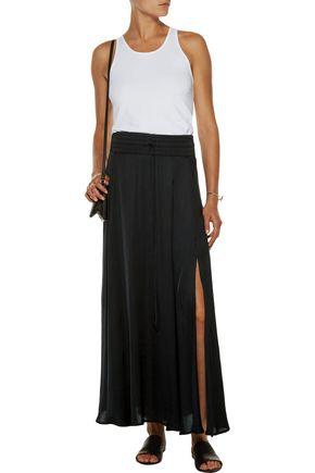 ENZA COSTA Satin maxi skirt