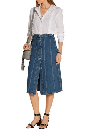 M.I.H JEANS Simone denim skirt