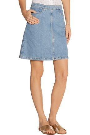M.I.H JEANS Decade denim mini skirt