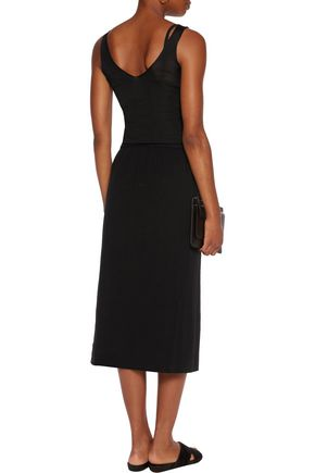 JAMES PERSE Crepe de chine skirt
