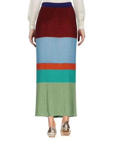 Фото 2 - Длинная юбка цвет какао