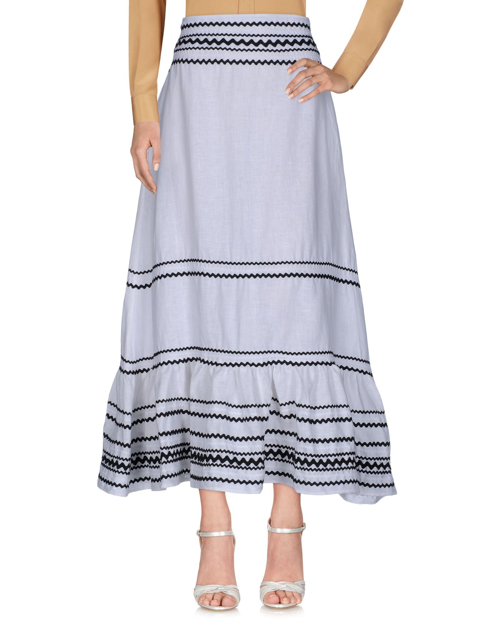 LISA MARIE FERNANDEZ Длинная юбка юбки lisa campione юбка