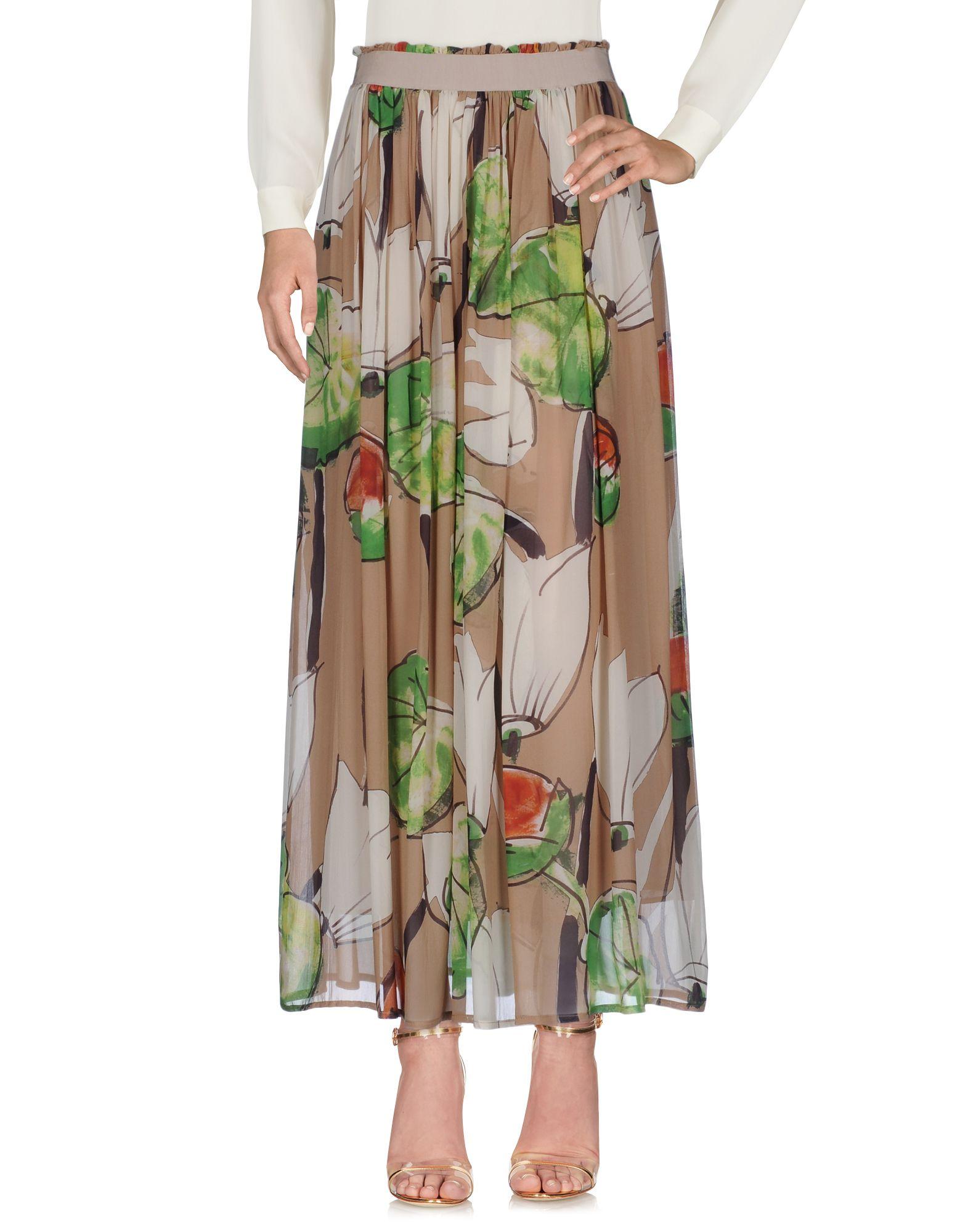 MANILA GRACE Длинная юбка manila grace denim длинная юбка
