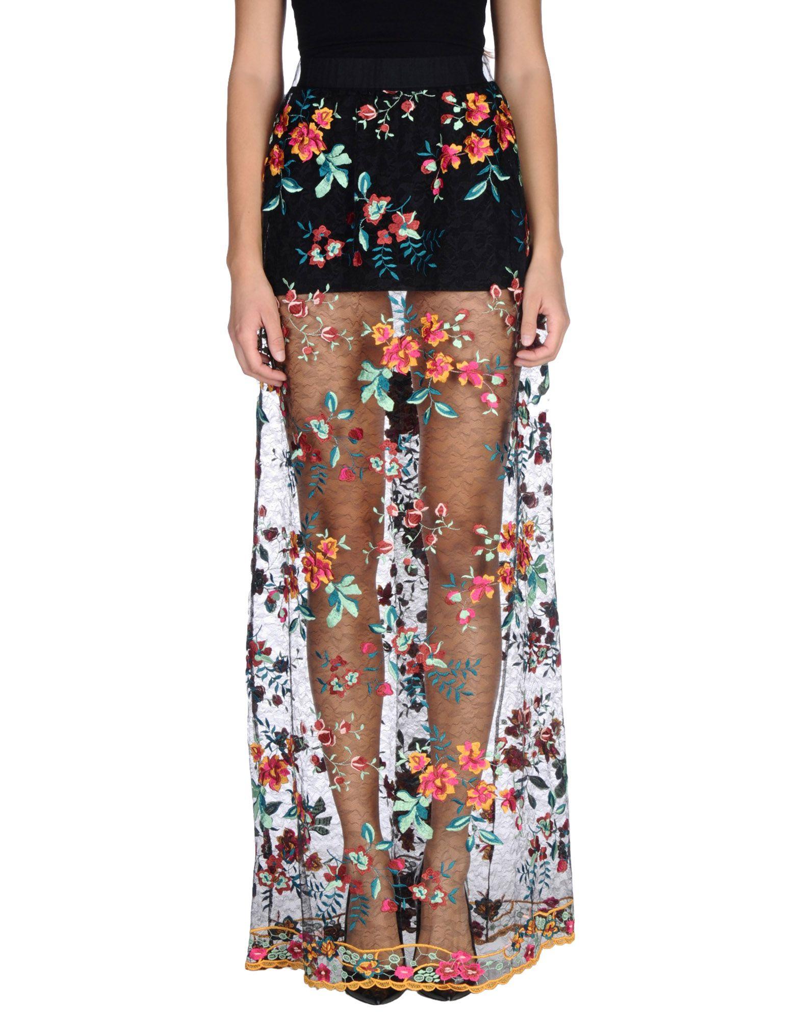 купить LUCILLE Длинная юбка недорого
