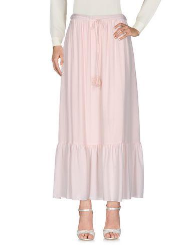Фото - Длинная юбка от NAF NAF светло-розового цвета