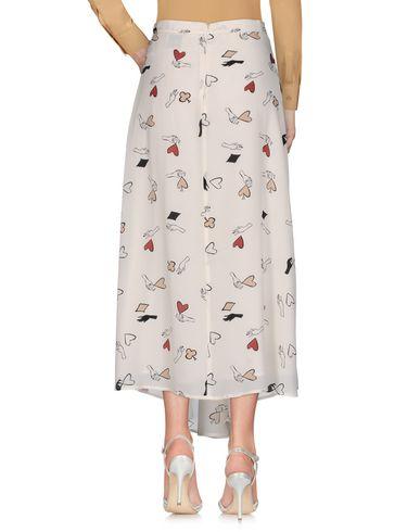Фото 2 - Длинная юбка цвет слоновая кость