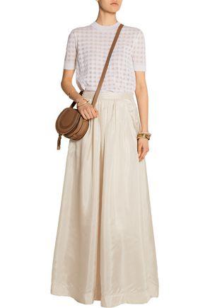 BY MALENE BIRGER Cudy pleated silk maxi skirt