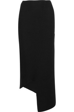 JOSEPH Ribbed merino wool maxi skirt
