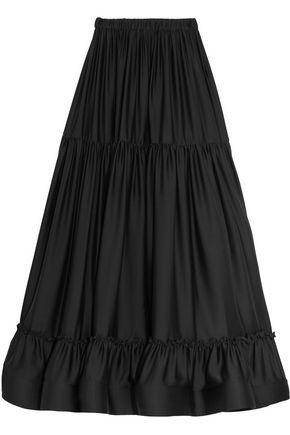 STELLA McCARTNEY Elsa tiered silk maxi skirt