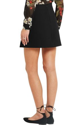 REDValentino Crepe mini skirt