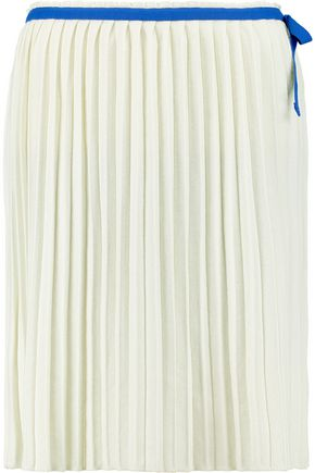 SEE BY CHLOÉ Pleated jersey skirt