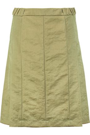 MARNI Pleated twill skirt
