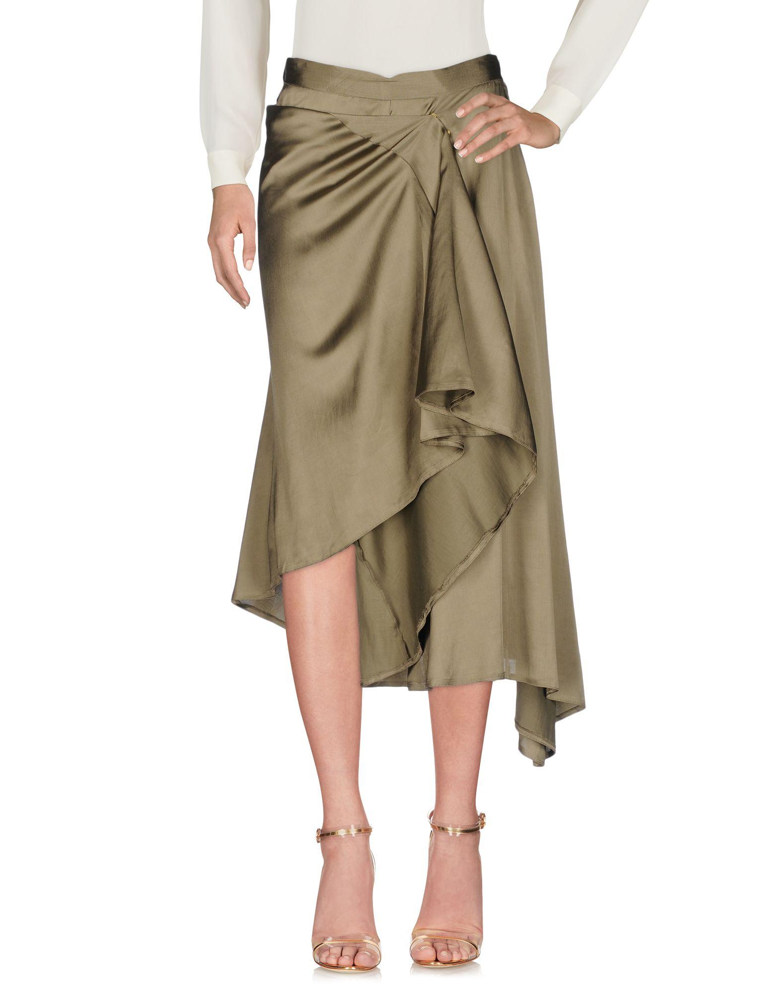 MM6 MAISON MARGIELA Юбка длиной 3/4 maison margiela юбка длиной 3 4
