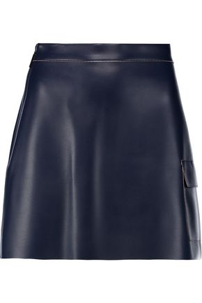 MSGM Faux leather mini skirt