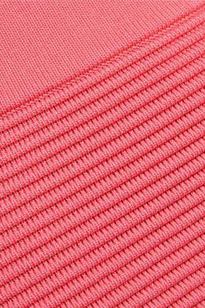 JONATHAN SIMKHAI Ribbed-knit skirt